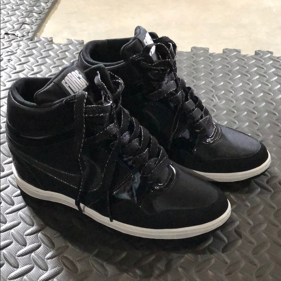56b2c3ee81dab Nike Force Sky High Hidden Wedge Black New. M_5bb90fbd34a4efc4ddb41c3e